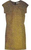 Bally Painted Wool-tweed Dress - Lyst