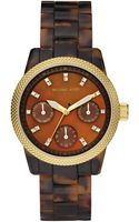 Michael Kors Mini Tortoise Acrylic Watch - Lyst