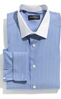 David Donahue Regular Fit Dress Shirt - Lyst