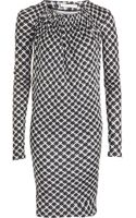 Balenciaga Geometric Print Dress - Lyst