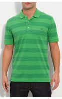 Lacoste Vintage Wash Striped Polo - Lyst