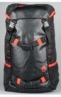 Nixon The Landlock Backpack in Black, Red, & White - Lyst