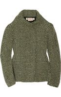 Marni Wool-blend Tweed Jacket - Lyst