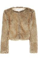 Helene Berman Faux Fur Jacket - Lyst