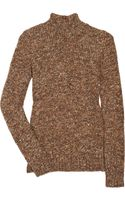 Chloé Cashmere and Wool-blend Turtleneck Sweater - Lyst