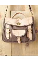 Free People Baron Two-tone Satchel - Lyst