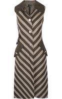 Marc Jacobs Wool Sleeveless Coat - Lyst