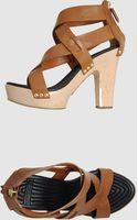 Givenchy Platform Sandals - Lyst