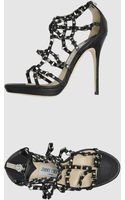 Jimmy Choo London Platform Sandals - Lyst