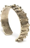 Low Luv X Erin Wasson Bone Cuff - Yellow Gold - Lyst