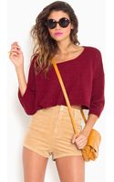 Nasty Gal Forever Young Corduroy Shorts - Lyst