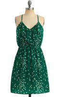 ModCloth You Flight Up My Life Dress - Lyst