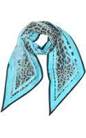 Roberto Cavalli Animal Print Silk Stole - Lyst