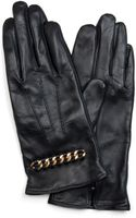 Mango Touch - Leather Gloves Chain - Lyst