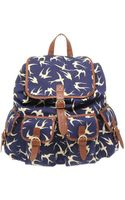 ASOS Collection Asos Bird Print Rucksack - Lyst