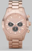 Michael Kors Rose Gold Stainless Steel Watch - Lyst