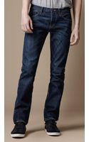 Burberry Steadman Stonewash Slim Fit Jeans - Lyst