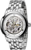 Emporio Armani Meccanico Automatic Round Watch - Lyst