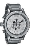 Nixon The 51-30 Chrono All Raw Watch - Lyst