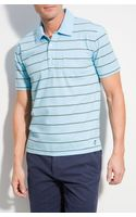 Brooks Brothers Feed Stripe Jersey Polo - Lyst