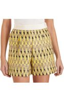 Giambattista Valli Tribal Shorts - Lyst