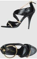 Giuseppe Zanotti x Balmain Highheeled Sandals - Lyst