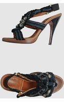 Lanvin  High-heeled Sandals - Lyst