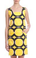 Marni Square Neck Circle Dress - Lyst