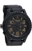 Nixon The 51-30 Rubber Strap Watch - Lyst