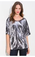 Rachel Zoe Sequin Top - Lyst