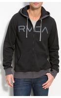RVCA Contrast Hoodie - Lyst