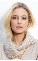 Eileen Fisher Hand Knit Infinity Scarf - Lyst
