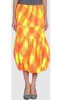 Y's Yohji Yamamoto 34 Length Skirt - Lyst