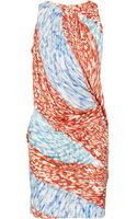 Peter Pilotto Printed Silk Dress - Lyst