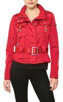 Peuterey Montauk Short Trench Nylon Sport Jacket - Lyst