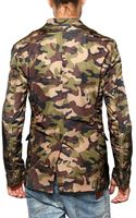 DSquared2 Camouflage Nylon Jacket - Lyst