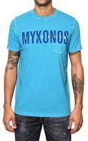 DSquared2 Cotton Jersey Mykonos T-shirt - Lyst