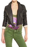 Givenchy Biker Style Nappa Leather Jacket - Lyst