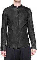 Vaz Rajan Sheepskin Zipped Leather Jacket - Lyst