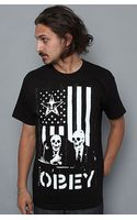 Obey The Dk Basic Tee in Black - Lyst