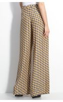 Rag & Bone Wide Leg Silk Pants - Lyst