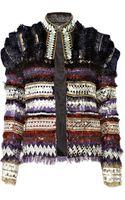 Balmain Embellished Wool-blend Jacket - Lyst