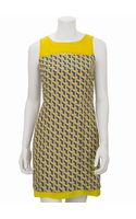 Rag & Bone Geo Lemon Chelsea Dress - Lyst