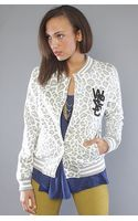 Wesc The Laika Fleece Jacket in White - Lyst