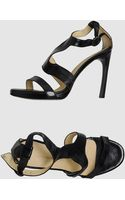 C'n'c' Costume National Cnc Costume National - Platform Sandals - Lyst