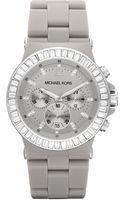 Michael Kors Mid-size Dylan Chronograph Glitz Watch - Lyst