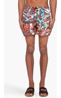 Christopher Kane Multicolor Cable Swim Shorts - Lyst