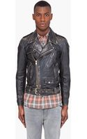 Marc Jacobs Leather Horseskin Jacket - Lyst