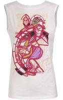 Balenciaga Cotton T-shirt with Graphic Renaissance Print - Lyst