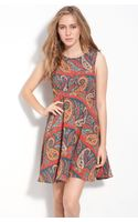 Free People Dancing Pretty Paisley Print Dress - Lyst